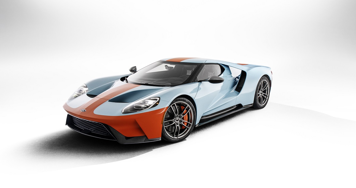 """Nouvelle Ford GT Heritage Edition """"Gulf"""""""