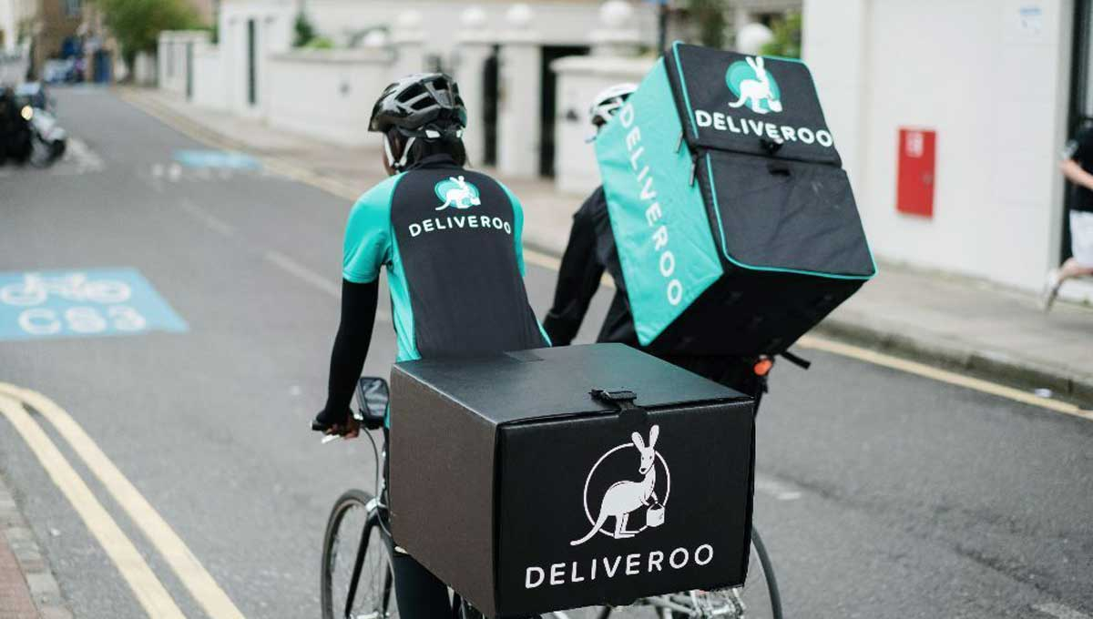 Uber pourrait faire l'acquisition de Deliveroo