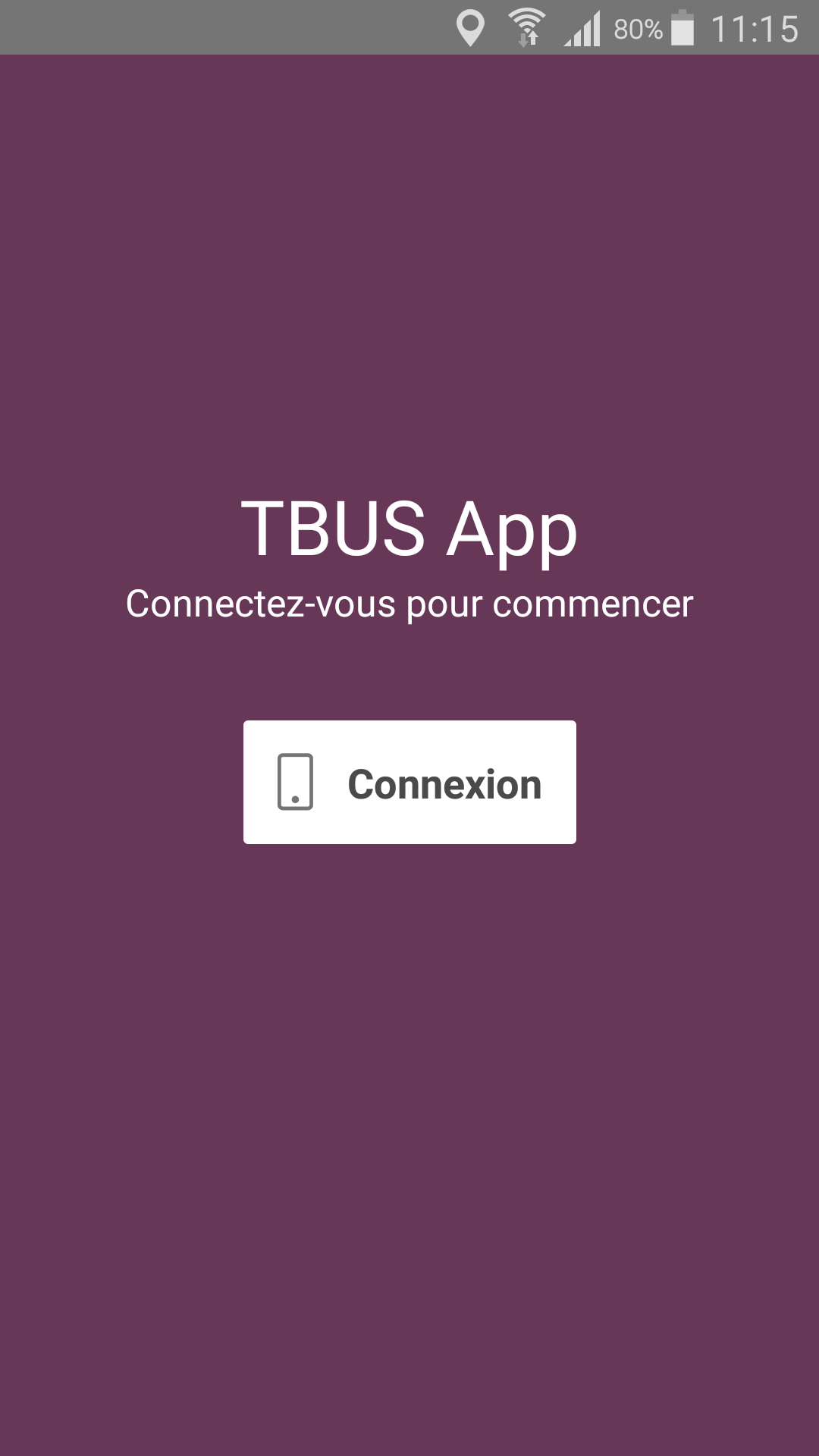 splashscreen TBUS