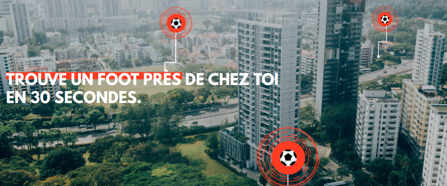Versus Football : une application de type Uber pour le football amateur