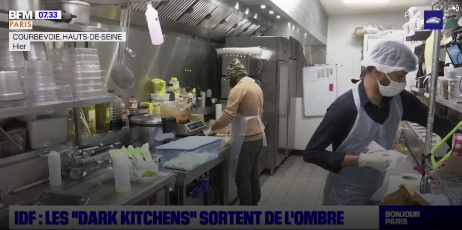 Face au COVID, l'essor des Dark Kitchens