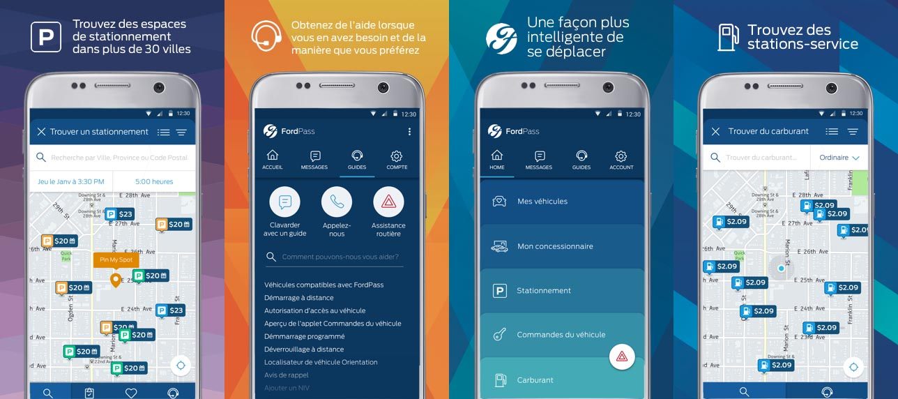 FordPass : autopartage, stationnement - l'application ultra-mobile
