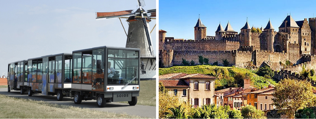 Carcassonne Agglo acquiert un train électrique SOIO